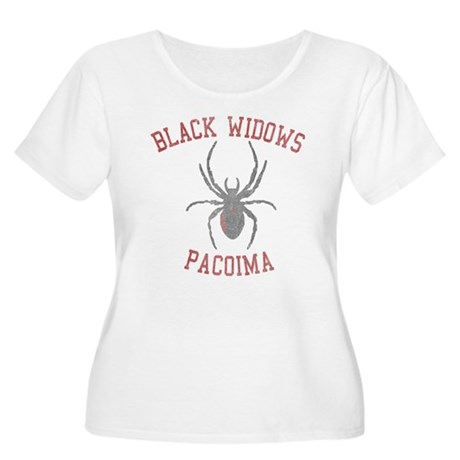 Black Widows Pacoima Womens Plus Size Scoop Neck