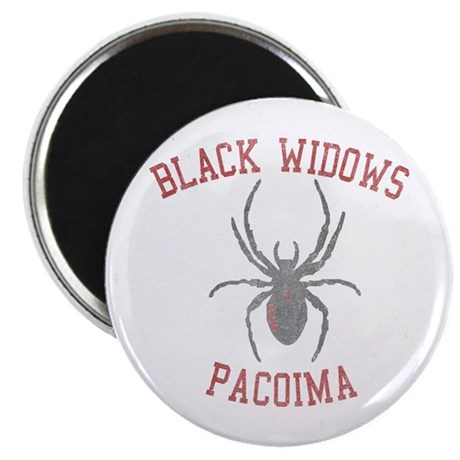 Black Widows Pacoima Magnet