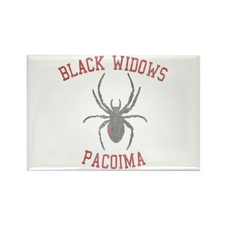 Black Widows Pacoima Rectangle Magnet