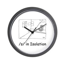 S in isolation Wall Clock