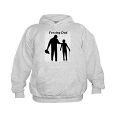 Fencing Dad Hoody