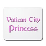 Vatican City Princess Mousepad