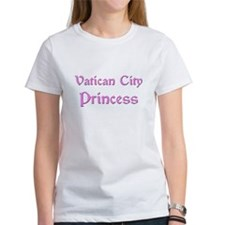 Vatican City Princess Tee