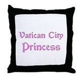 Vatican City Princess Throw Pillow