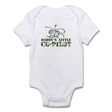 Daddy's Co-Pilot Heli Infant Bodysuit