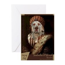 Clumber Spaniel TITIAN Greeting Cards (Pk of 10)