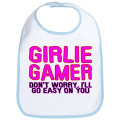 Girlie Gamer Bib