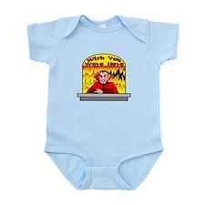 Wish You Were Infant Bodysuit