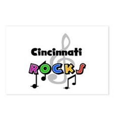 Cincinnati Rocks Postcards (Package of 8)