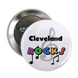 "Cleveland Rocks 2.25"" Button"