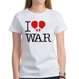 I (Don't) Heart War Tee