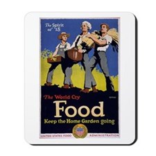 Food - The Spirit of 1918 Mousepad