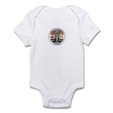 LOS-ANGELES-COUNTY-SEAL Infant Bodysuit