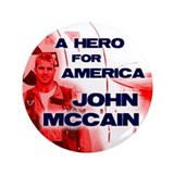 "McCain - Hero 3.5"" Button (100 pack)"