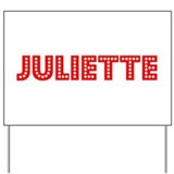 Retro Juliette (Red) Yard Sign