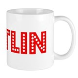 Retro Kaitlin (Red) Mug