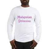 Malaysian Princess Long Sleeve T-Shirt