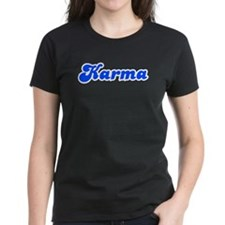 Retro Karma (Blue) Tee