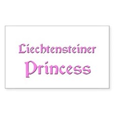Liechtensteiner Princess Rectangle Decal