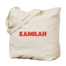 Retro Kamilah (Red) Tote Bag