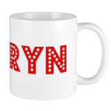 Retro Kamryn (Red) Mug