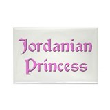 Jordanian Princess Rectangle Magnet (10 pack)