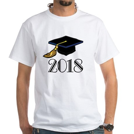 2018 Graduation White T-Shirt
