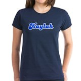 Retro Kaylah (Blue) Tee