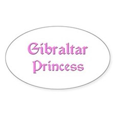 Gibraltar Princess Oval Decal
