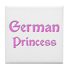 German Princess Tile Coaster
