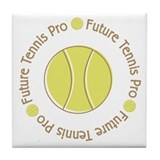 Future Tennis Pro Tile Coaster