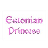 Estonian Princess Postcards (Package of 8)