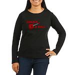 BARACK & ROLL Women's Long Sleeve Dark T-Shirt