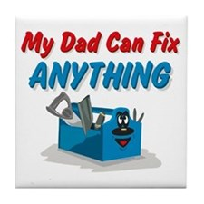 Fix Anything Dad Tile Coaster