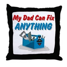 Fix Anything Dad Throw Pillow