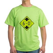 "Tall One 6'0"" T-Shirt"