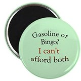 "gas or bingo 2.25"" Magnet (10 pack)"