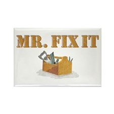 Mr. Fix-It 2 Rectangle Magnet