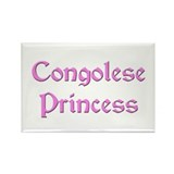 Congolese Princess Rectangle Magnet (10 pack)