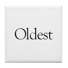 Oldest (first born) Tile Coaster
