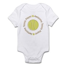 Awesome Tennis Player Infant Bodysuit