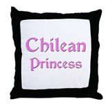 Chilean Princess Throw Pillow