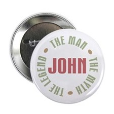 "John Man Myth Legend 2.25"" Button (10 pack)"