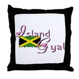 Island Gyal - Throw Pillow