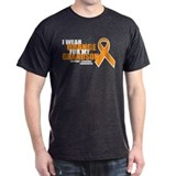Leukemia: Orange For Grandson T-Shirt