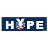 Obama/Hype Bumper Sticker (10 pk)