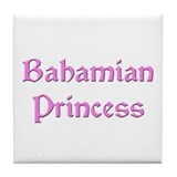 Bahamian Princess Tile Coaster