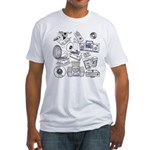 Play That Funky Music Fitted T-Shirt
