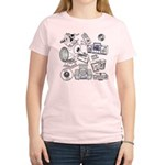 Play That Funky Music Women's Light T-Shirt
