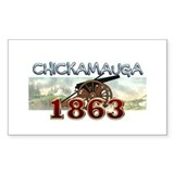 ABH Chickamauga Rectangle Decal